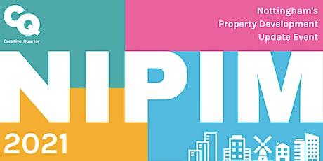 NIPIM: Nottingham's Property Development Update Event tickets