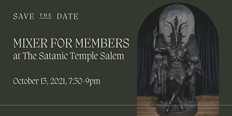 Creative Collective's Monthly Membership Mixer at The Satanic Temple Salem tickets