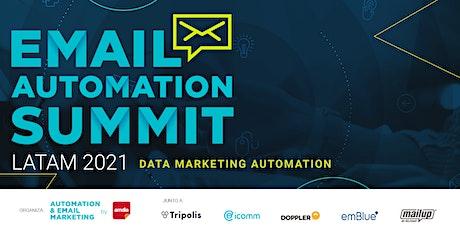 Email Automation Summit Latam 2021 | Data Marketing Automation entradas