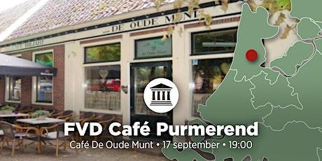 FVD Café Purmerend tickets
