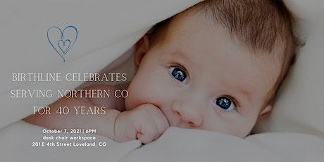 Birthline 40 year celebration tickets