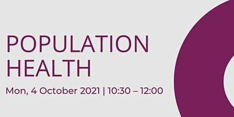Population Health - Bristol Turing Fellows Projects tickets