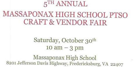 5th Annual Craft & Vendor Fair tickets
