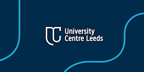 University Centre Leeds Open Day tickets