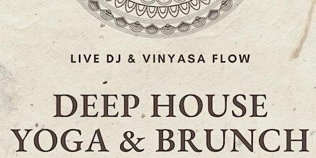 Deep House Yoga & Brunch tickets