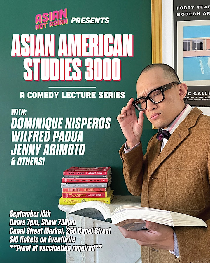 Asian Not Asian Podcast's Live Lab Series: Asian American Studies 3000 image