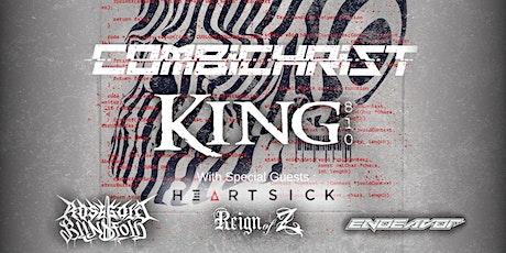 COMBICHRIST, King 810, Rosegold Blindfold, Endeavor, Heartsick & Reign of Z tickets