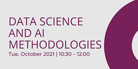 Data science and AI methodologies  - Bristol Turing Fellows Projects tickets