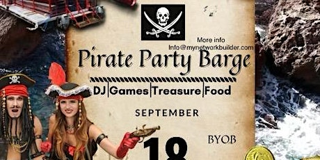 Pirate Themed Party Barge Sept 18th tickets