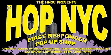 Hop NYC First Responder Pop Up Shop tickets