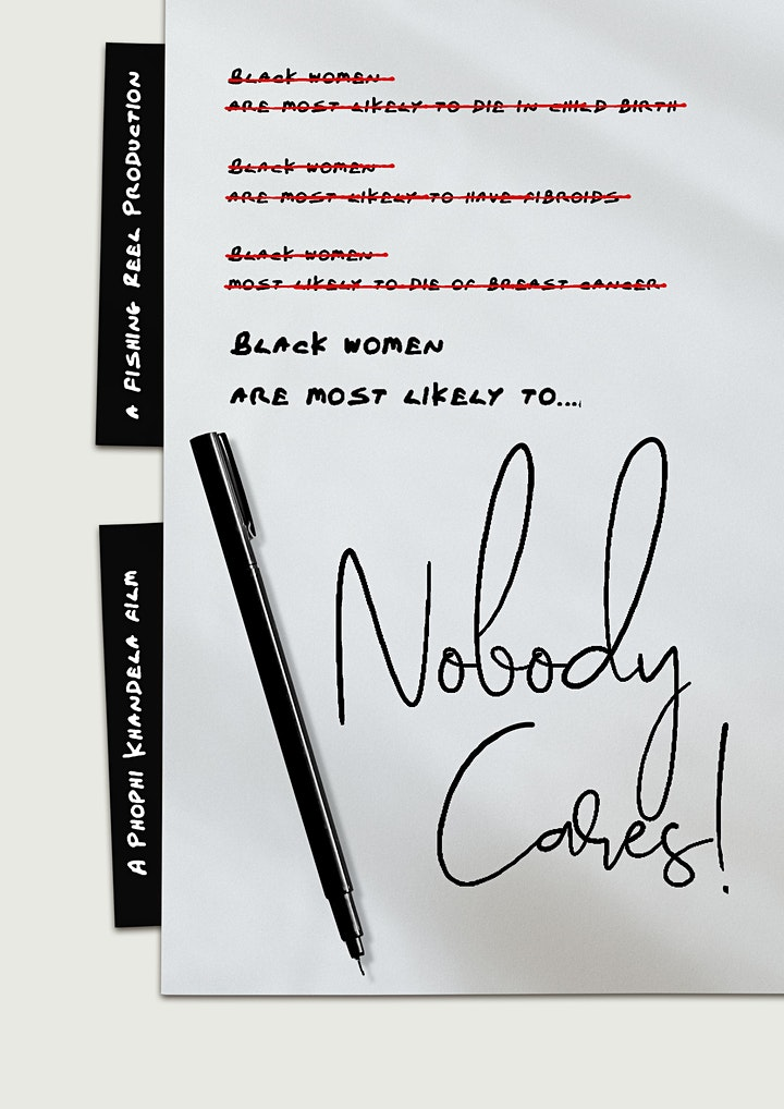 'Black women are most likely to..' screening image