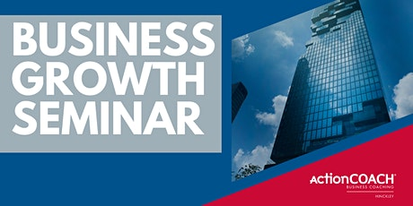 Business Growth Seminar tickets