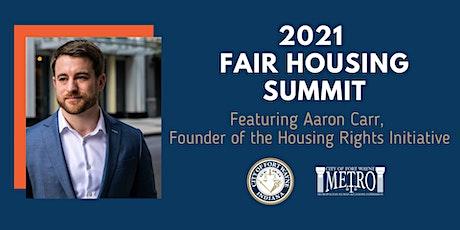The 2021 Fair Housing Summit tickets