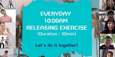Online Releasing Exercise for Healthy Mind and Body tickets