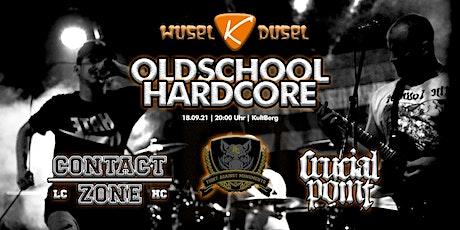 WUSEL K DUSEL Oldschool Hardcore Tickets