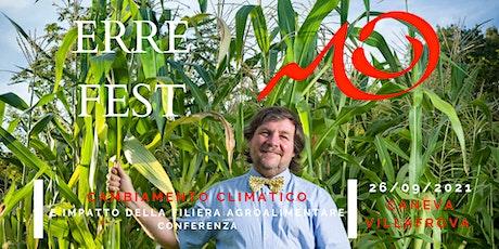 ERRE FEST - Conferenza con Luca Mercalli biglietti