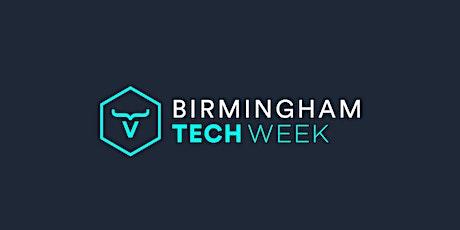 Birmingham Tech Week  Celebration of WM Health Technology tickets