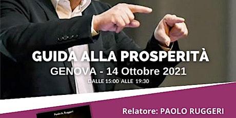 Guida alla prosperità - Paolo Ruggeri biglietti