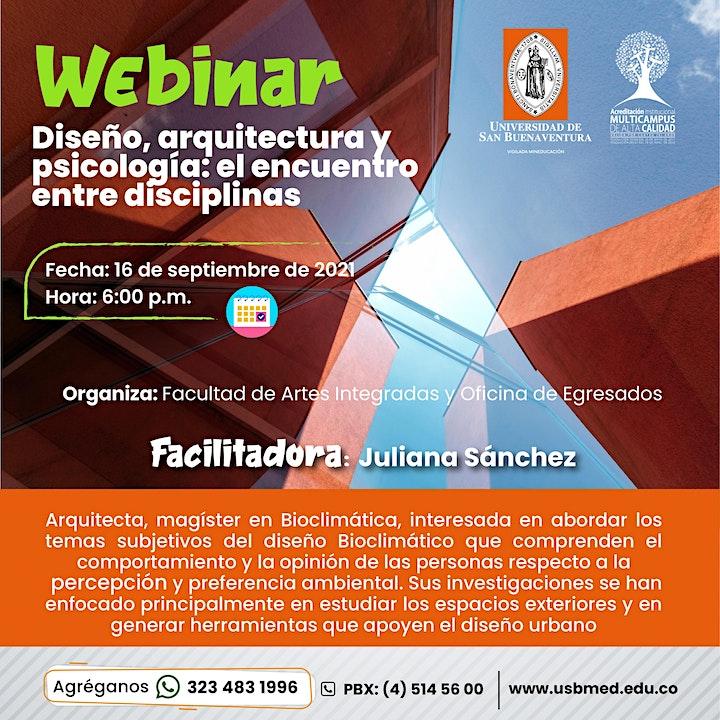 Imagen de Diseño, Arquitectura y Psicología, el encuentro entre disciplinas.