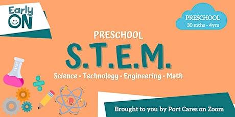 Preschool  S.T.E.M - Bubble Tower tickets