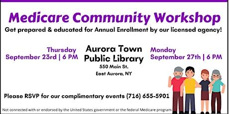 Medicare Community Workshop tickets