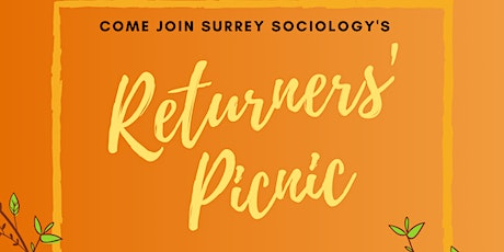 Returners' Picnic for Surrey Sociology tickets