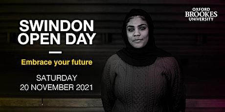 Oxford Brookes Open Day - Swindon - 20 November 2021 tickets