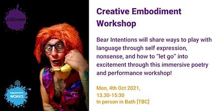 Creative Embodiment Workshop tickets