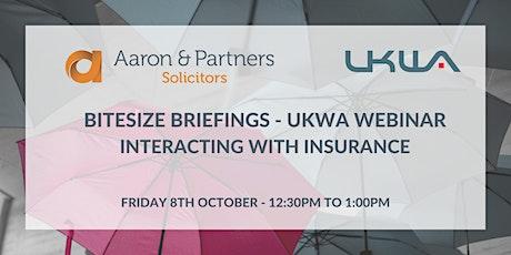 Bitesize Briefings - UKWA Webinar tickets