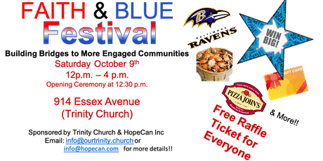 Annual Faith and Blue Festival tickets