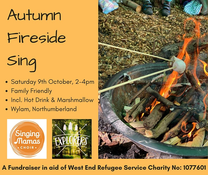 CANCELLED DUE TO ILL HEALTH - Autumn Fireside Sing & Fundraiser image