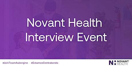 Novant Health RegisteredRespiratoryTherapist Virtual Interview Day-Winston tickets