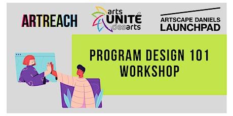 Program Design 101 Workshop biglietti