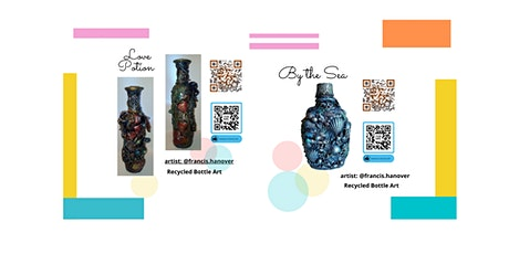 Recycled Bottle Mix Media Art Workshop tickets