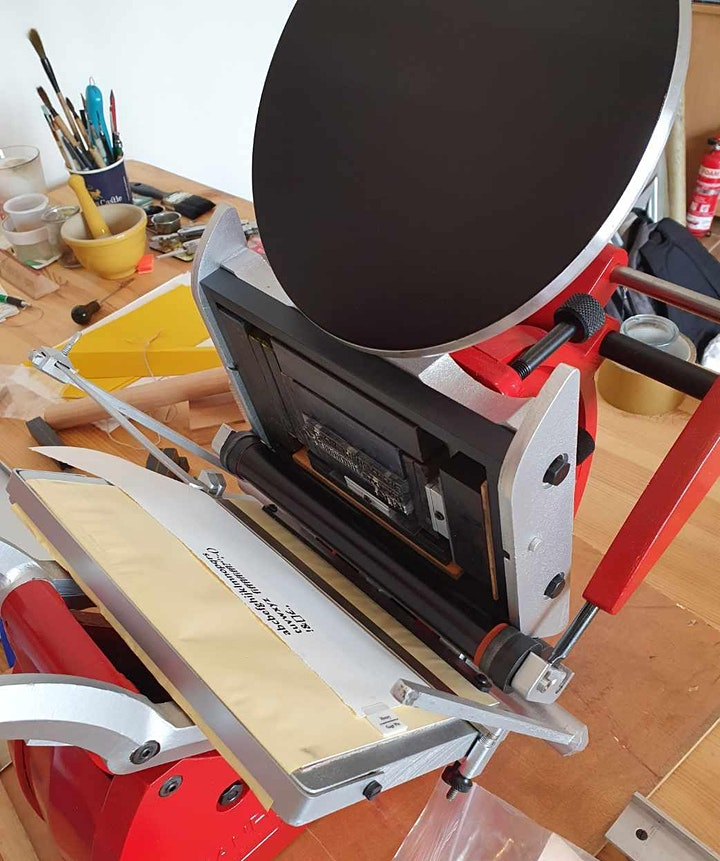 Culture Night - Open Studio with Letterpress Printing image