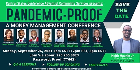Pandemic Proof - A Financial Management Conference tickets