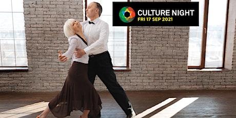 Tea Dance - Culture Night tickets