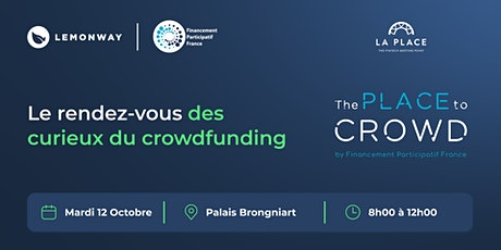 French Fintech Week : The Place to Crowd tickets