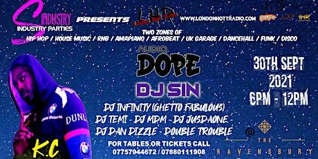 Audio Dope feat KC Album Listening Party + Dj SIN & More tickets