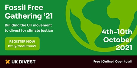 Fossil Free Gathering '21 tickets