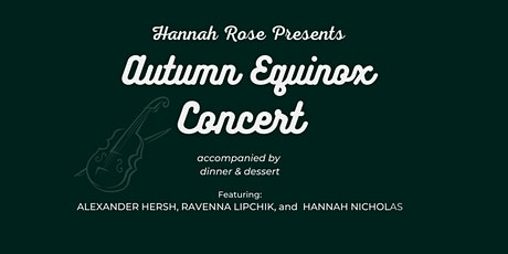 Autumn Equinox Concert tickets