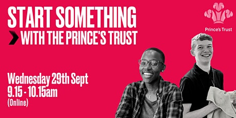 Start Something with The Prince's Trust tickets