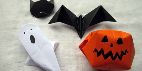 We can origami: Halloween fold tickets