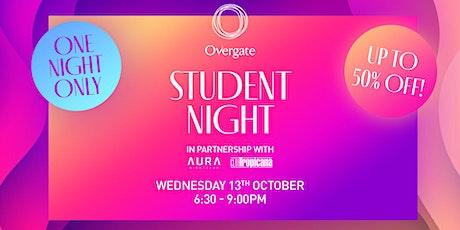 Overgate Student Night tickets