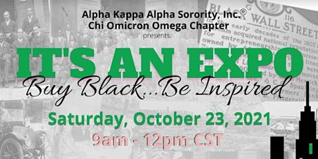 It's An Expo! Buy Black...Be Inspired! tickets