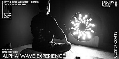 Alpha Wave Experience Headed by Dan Ghenacia: An Experimental Music Machine tickets