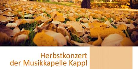 Herbstkonzert der MK-Kappl - 16.10.2021 Tickets