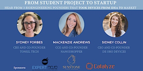 From Student Project to Startup - BME Founders Discuss Their Journey tickets