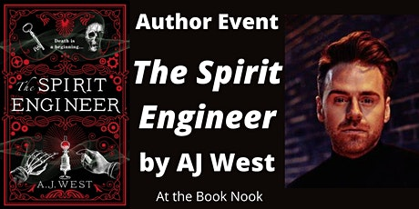 An Evening with  AJ West, author of 'The Spirit Engineer' tickets