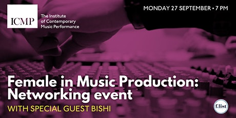 Female in Music Production: Networking event tickets